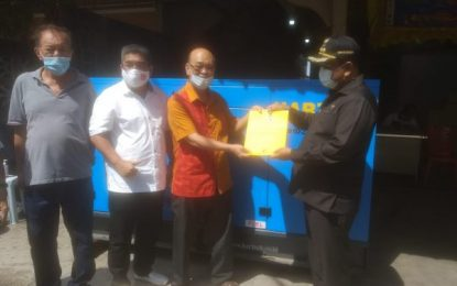 Rumah Duka Yayasan Heng Qiao Puakang Terima Bantuan Genset Portabel