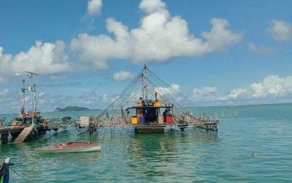 Diduga Langgar Permen KP, Nelayan Desa Pengadah Laporkan Kapal Bagan Penangkap Ikan