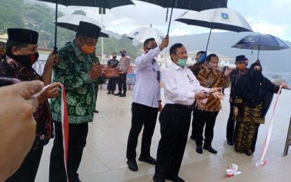 Menyongsong New Normal, Masjid Agung Baitul Ma'mur Anambas Diresmikan
