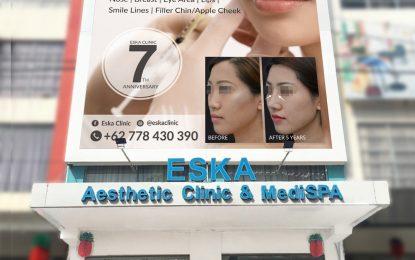 Anniversary  Eska Aesthetic Clinic Batam Indikator Bangkitnya Bisnis Kecantikan di Tengah Covid-19