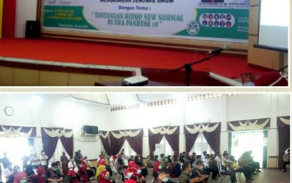 IDI Rohil Gelar Seminar Tantangan Hidup di Era Covid-19