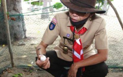 Punya Penangkaran Penyu, Pulau Karas Kecil Berpotensi Jadi Tujuan Wisatawan