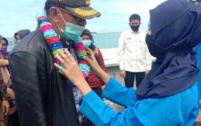 Tinjau Wilayah Persiapan Pemekaran Hamid Rizal: Tetap Patuhi Protokol Kesehatan
