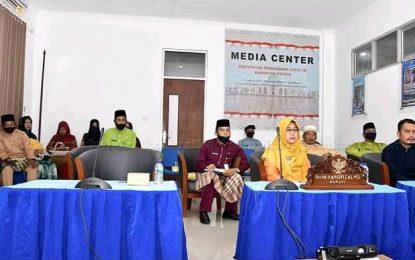 Wabup Natuna Gelar Video Conference Persiapan Pilkada 2020