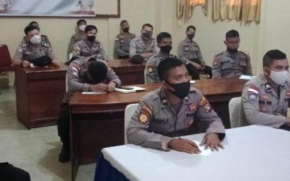 Personel Polres Natuna Adakan Pelatihan Manajemen Agar Tidak Setres