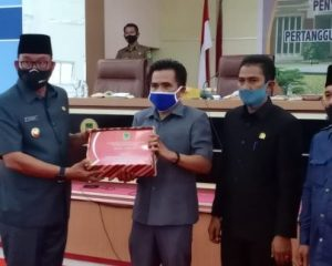 Bupati Suyatno Sampaikan Pertanggungjawaban Pelaksanaan APBD Tahun 2019