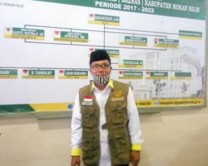 Baznas Rohil Distribusikan Bantuan Tahap Kedua