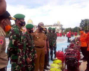 FKPD Rohil Cek Kesiapan Peralatan Penanganan Karhutla