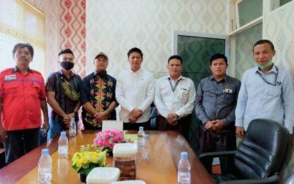 PPWI Pelalawan Lakukan Silaturahmi dengan Wakil Ketua I DPRD Pelalawan