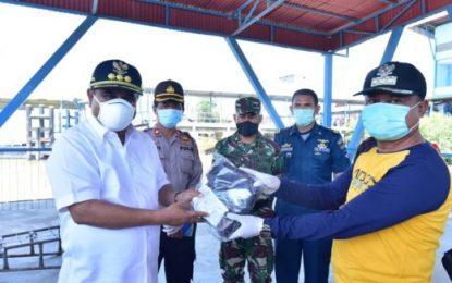 Bupati Salurkan Bantuan ASN Pemkab Karimun untuk Delapan Kecamatan