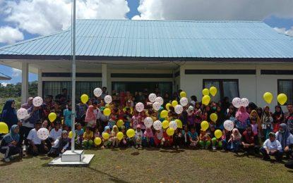 Puspa Bahari Natuna Gelar Kegiatan Hari Anak Nasional di Desa Binjai
