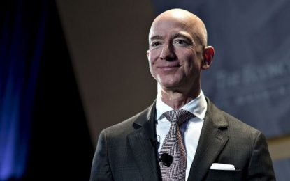 Dalam Satu Hari, Kekayaan Jeff Bezos Capai Rp 191,1 Triliun