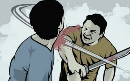 Tanpa Alasan yang Jelas, Remaja Ini Bacok Ayah Kandung Hingga Tewas