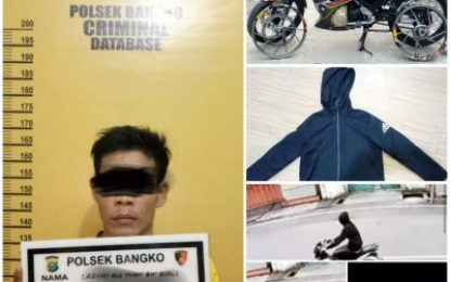 Tim Polsek Bangko Ungkap Kasus Pencurian dengan Kekerasan