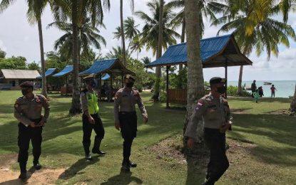 Objek Wisata Dibuka, Polres Natuna Himbau Masyarakat Taati Protokol Kesehatan