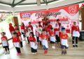 Sambut HUT RI ke-75, Sanggar Seni Trendy Club Gelar Carnaval di Taman Rusa Sekupang
