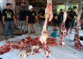 Paguyuban Pasundan Kota Tanjungpinang Sembelih Dua Ekor Sapi