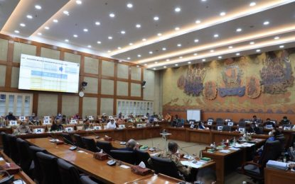 BP Batam Bahas Rencana Kerja dan Anggaran Tahun 2021 Bersama Komisi VI DPR RI