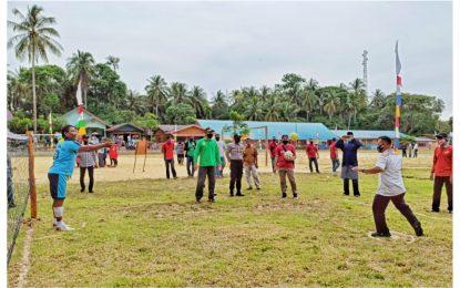 Buka Resmi Permainan Rakyat Temiang Pesisir, M. Nizar Ungkap Permohonan Maaf