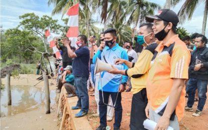 Wakil Bupati Lingga Resmi Buka Perlombaan Sampan Layar di Singkep Barat