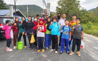 Meski Pandemi, Anak-anak Taekwondo Indonesia (TI) Karimun Tetap Semangat Latihan