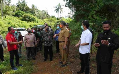 Upaya Pemerintah Tingkatan Akses Telekomunikasi, Deputi Bidkor Kominfotur Kemenko Polhukam Tinjau Anambas