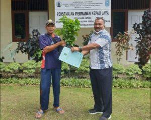 8000 Batang Bibit Diterima Dinas Lingkungan Hidup Rohil