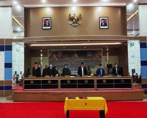 DPRD Sahkan APBD Perubahan Rohil SebesarRp 2,05 Triliun