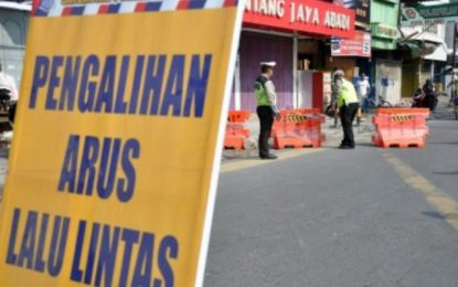Ada Pendaftaran Bacalon Kepala Daerah, Jalan Depan KPU Kepri Dialihkan