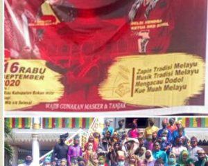 Bangkitkan Kembali Khasanah Melayu, Bupati Rohil Buka Rohil Bertanjak