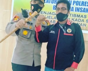 HUT Humas Polri ke-69, Ketua PJI Pelalawan Beri Ucapan Selamat