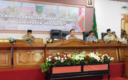 DPRD Natuna Dengar Pendapat dengan Mahasiswa