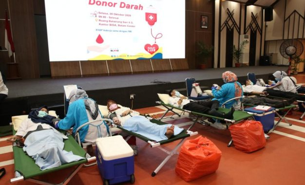 Sambut Hari Bakti BP Batam ke-49, RSBP Batam Gelar Donor Darah dan Bakti Sosial