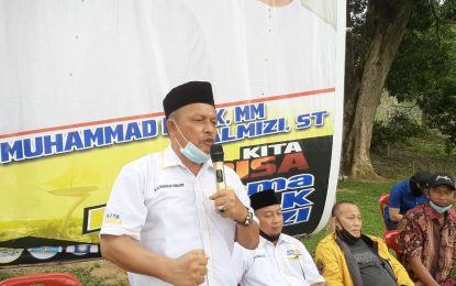 Kampanye Perdana, Paslon Ishak – Salmizi Kibarkan Program di Sejumlah Pulau