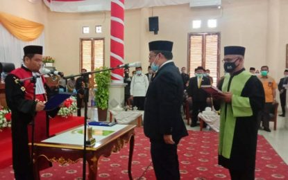 Daeng Amhar Resmi Jabat Ketua DPRD Natuna