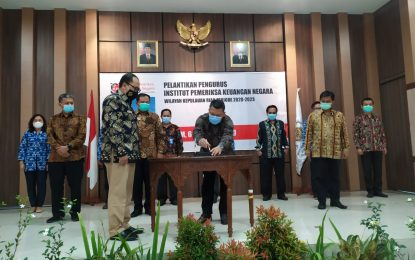 Pengurus IPKN Provinsi Kepri DIlantik, Widhi Widayat Jabat Ketua