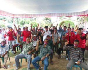 Masyarakat Bangko Sempurna Dukung SUDIN Dua Periode