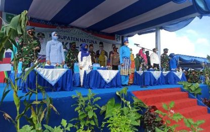 Pimpin Upacara Hari Jadi Natuna ke 21, Hamid : Pembangunan di Dalam  Berbagai Bidang Prioritas Telah Membuahkan Hasil yang Menggembirakan