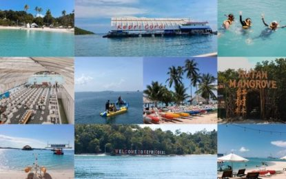 Tinjau Pulau Pengalap, Pjs Wali Kota Ingin Penetapan KEK Pariwisata Dipercepat