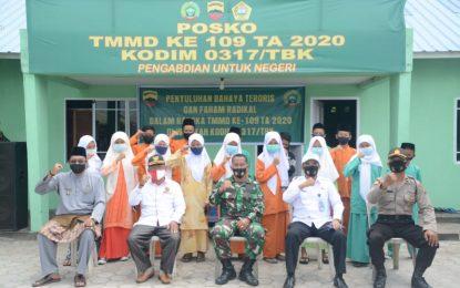 Kodim 0317/TBK Karimun dan Kesbangpol Berikan Penyuluhan Bahaya Terorisme