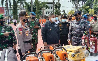 Waspada Bencana, Polres Karimun Gelar Apel Siaga Penanganan Bencana