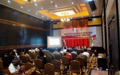 KPU Karimun Sosialisasi Kampanye Serentak Bersama Awak Media