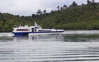 Ferry KM Baran Express 88 Siap Layani Rute Jagoh – Posek