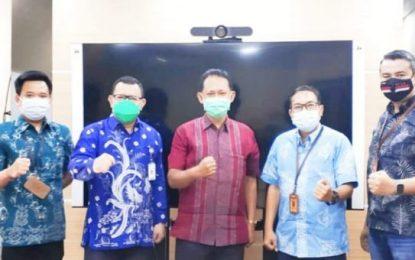 Kominfo Batam dan Humas KemenPAN-RB Bahas Pengelolaan Publikasi di Masa Pandemi COVID-19