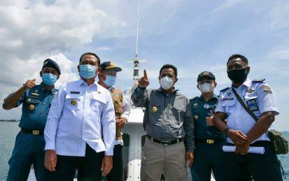 Pastikan Tak Ada Kendala, Sejumlah Pejabat Tinjau Lokasi Pembangunan Jembatan Batam-Bintan