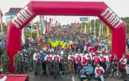 Apresiasi Riders, Gubernur Isdianto Berencana Bangun Tugu Riders di Pulau Dompak