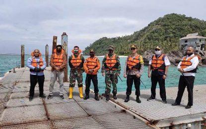 Jelang Tahun Baru, KPP Natuna Lakukan Pemantauan di Perairan Pulau Senoa