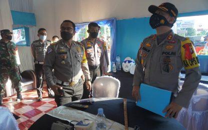 Polres Pelalawan Cek Kesiapan Pos Pengamanan Natal dan Tahun Baru