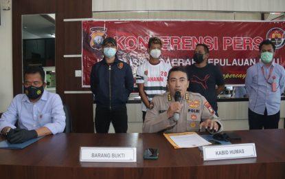 Pembunuh Janda di Tanjungpinang Ternyata Residivis