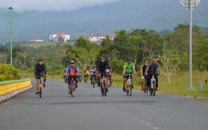 Pupuk Silaturrahmi Lintas Sektoral, Pimpinan DPRD Ikut Gowes Bersama FKPD Natuna